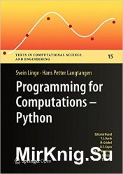 Programming for Computations - Python: A Gentle Introduction to Numerical Simulations with Python
