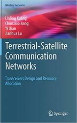 Terrestrial-Satellite Communication Networks: Transceivers Design and Resource Allocation