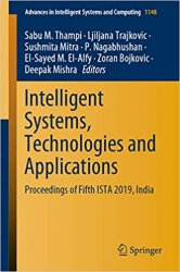 Intelligent Systems, Technologies and Applications: Proceedings of Fifth ISTA 2019